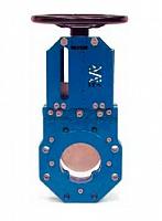 задвижка AVK 702/10 шиберная с невыдвижным шпинделем